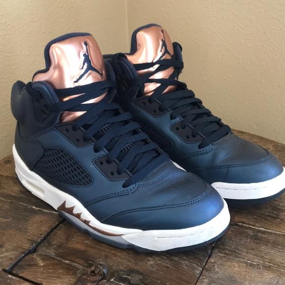 a21ecbf3e13 Jordan Shoes | Air 5 Rose Gold | Poshmark